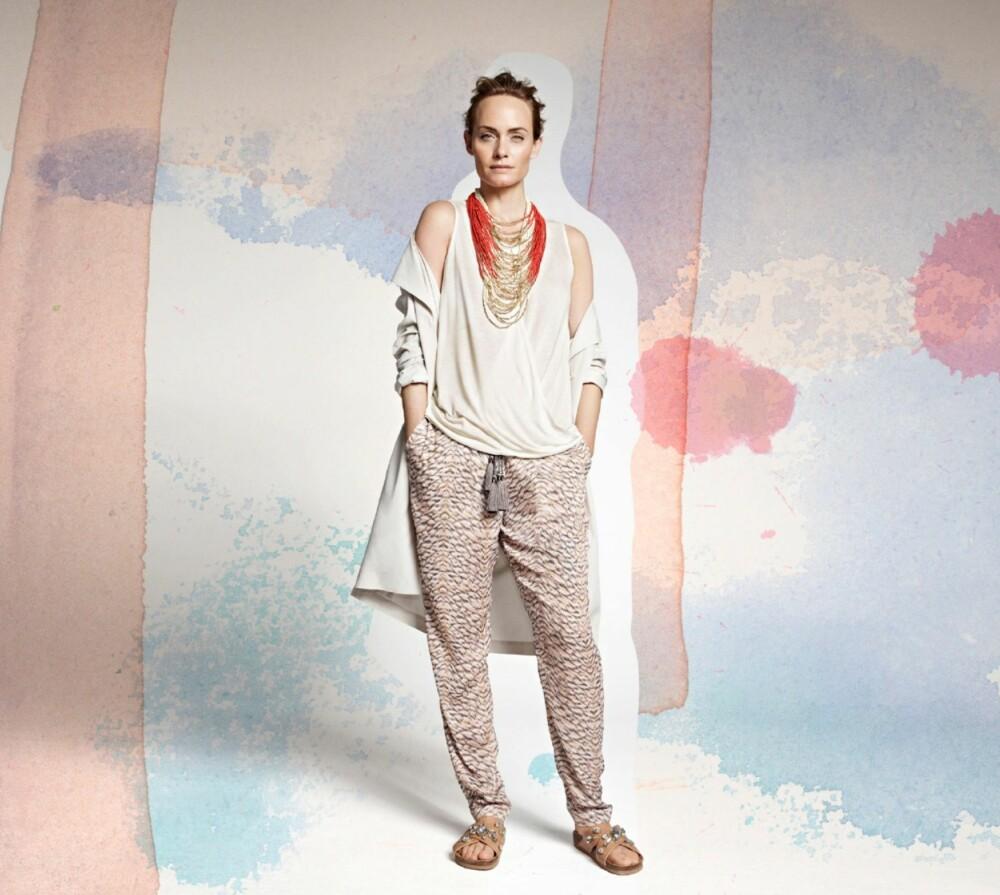 ØKOLOGISK: Vårkjolleksjonen fra H&M Conscious viser at økologiske klær utvilsomt kan følge trendbildet.