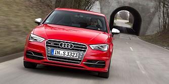 Audi S3 tredørs 2013