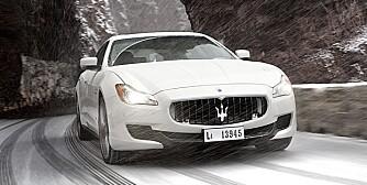 NYTT OG GAMMELT: Lysene er nå Bi-xenon med LED på dagtid, men den kjente Maserati-leppa er der ennå. FOTO: Lee Brimble