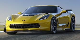 RÅERE: 2015 Chevrolet Corvette Z06. FOTO: GM