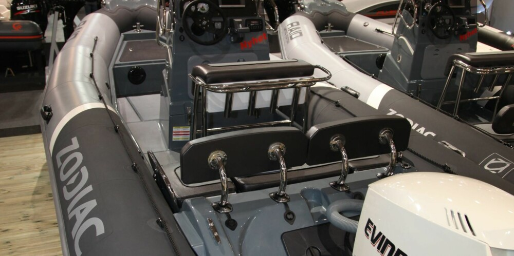 RIB: Båttypen RIB på sin side er kanskje det nærmeste vi kommer sjøens SUV. Den er tøff og robust, og ikke minst relativt lett å få med seg.