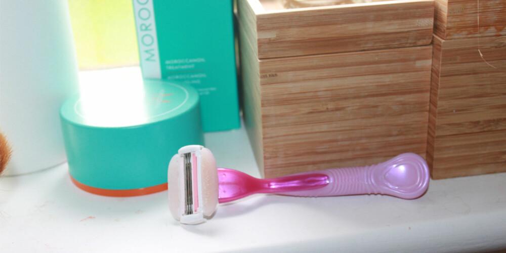 GOD HYGIENE: Alle verktøy som potensielt kan lage kutt i huden din bør holdes så rene og bakteriefrie som mulig.