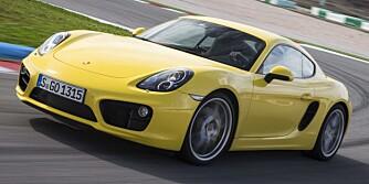VALUTA FOR PENGENE: For under 680 000 kroner får du en norgestilpasset Porsche Cayman med 211 hk. Det gjør bilen til en superbil for hvermannsen. FOTO: Porsche