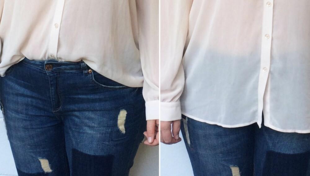 OPPI ELLER UTENPÅ?: Hvordan skal man egentlig style skjorter og bluser sammen med jeans, skjørt eller shorts?