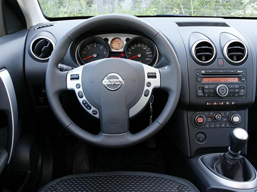 PENT BRUKT: Som bruktbil er 2007-modellen (bildet) med liten dieselmotor rimeligst. Se opp for ulyder fra et litt billig interiør.