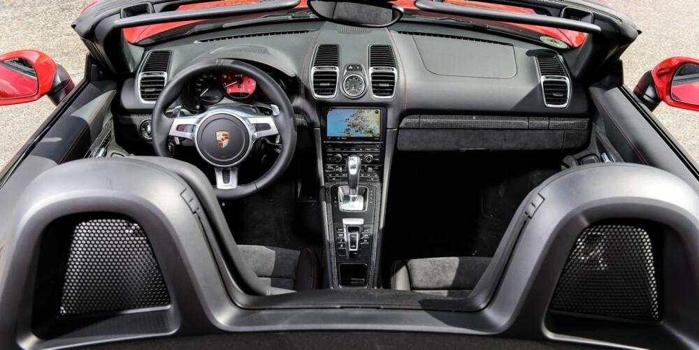 DEUTSCHLAND: Tyskland lager irriterende gode biler. Porsche Boxster GTS er intet unntak.