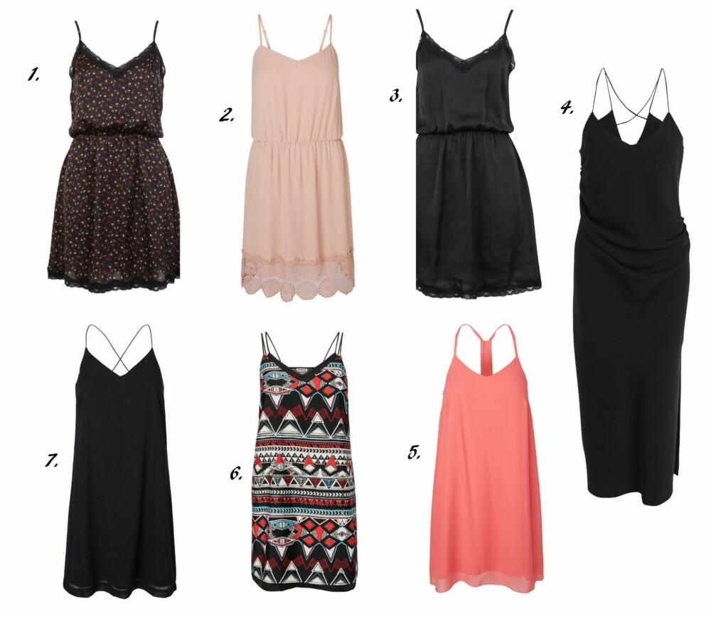 2fc3ef24 KJEDEBUTIKKENES SLIP DRESS: 1. Slip Dress fra Bok Bok (kr 249),