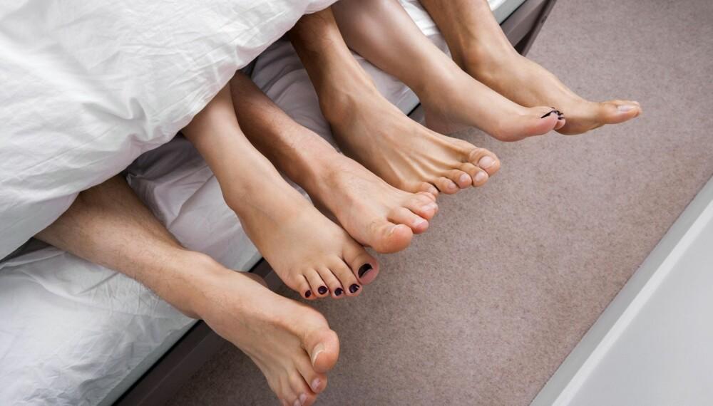 FLERE KJÆRESTER: Polyamorøse har flere kjærlighetsforhold samtidig, som alle involverte kjenner til og aksepterer.