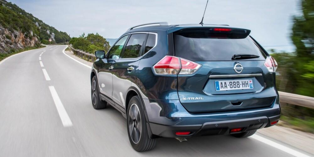 SUV: Prisene på Nissan X-Trail starter på 312 900 kroner. FOTO: Nissan