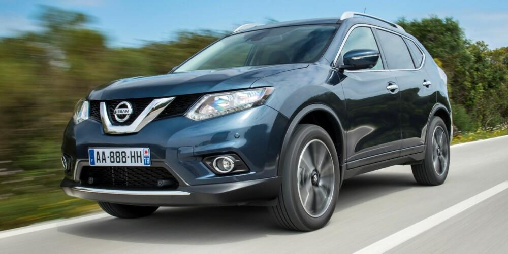 SUV: Nye X-Trail er blitt en langt mer moderne bil enn forgjengeren. FOTO: Nissan