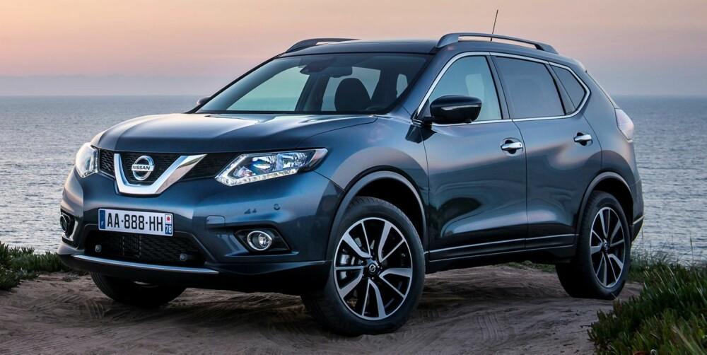 KOMPAKT-SUV: Nissan X-Trail lanseres i august. FOTO: Nissan