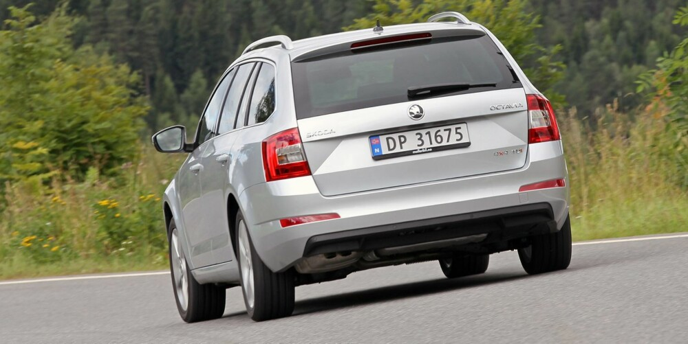 Skoda Octavia 2,0 TDI 4x4 test august 2013
