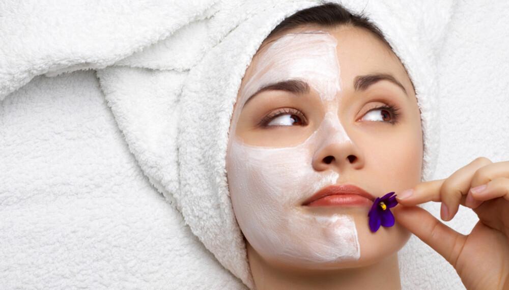 HUDPLEIE: Bruk tid på å finne produktene eller behandlingsformen som passer din hud best.