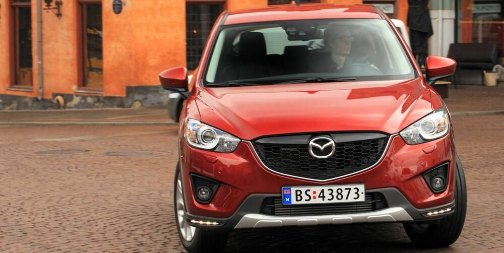 BEST: Mazda CX-5 med dieselmotor.