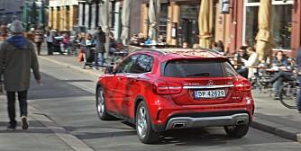 NESTEN-SUV: Mercedes GLA.