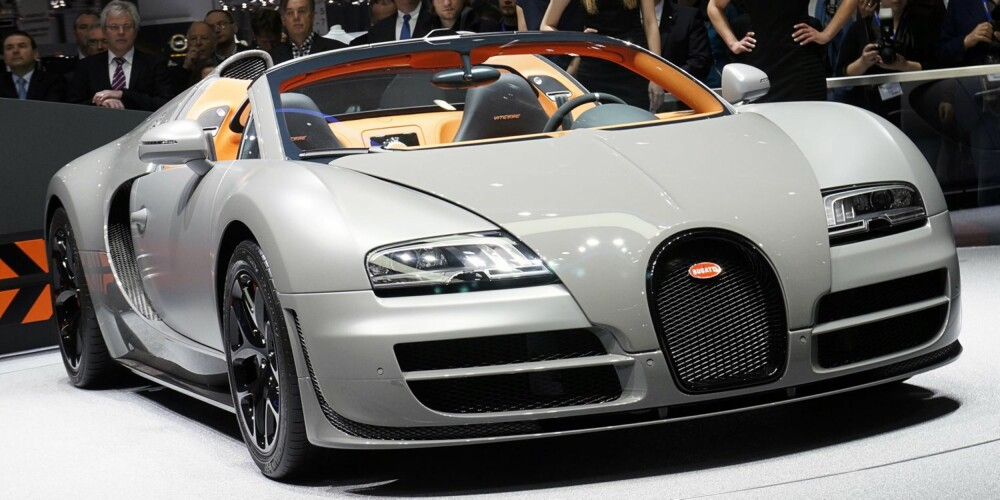RIVALEN: Bugatti Veyron 16.4 Grand Sport. FOTO: Bugatti