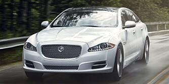 KATTEDYR: XJ er britenes (vel, egentlig indiske Tatas) alternativ til store BMW-er, Mercedes-er og Lexus-er. FOTO: Jaguar
