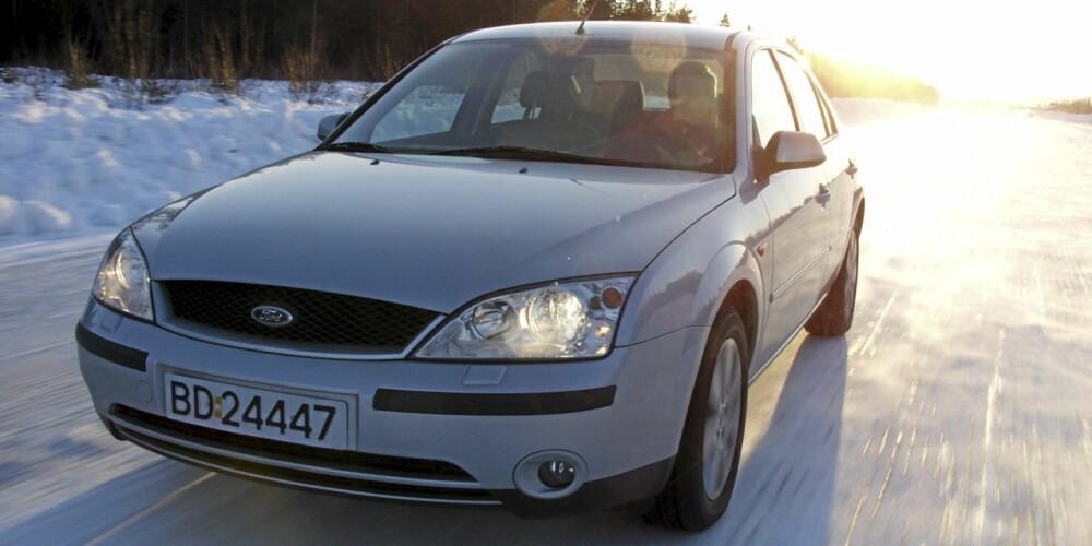 En brukt Ford Mondeo skal ha gode vinteregenskaper