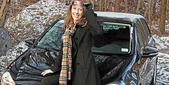 TYPISK: Marianne Kristiansen har gjort som svært mange andre - kjøpt en sort VW Golf. Foto: Egil Nordlien HM Foto