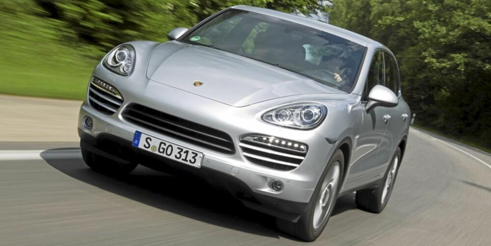 SPORTSLIG: Når en bil heter Porsche, skal den være rask og velkjørende. Selv om den er en SUV.