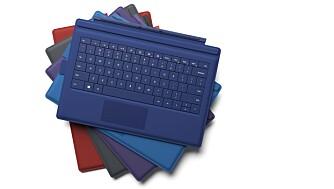 FARGER: Tastaturdekselet fås kjøpt i flere farger.