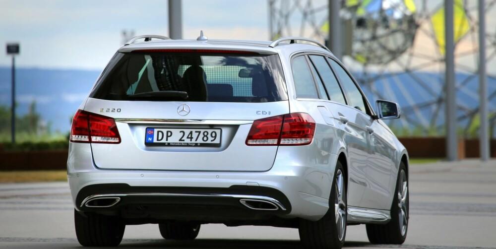 BRUKTBIL: Facelift i 2013 er et pluss for nye Mercedes-Benz E-klasse, mens kostnadsbildet roper på bruktbil.