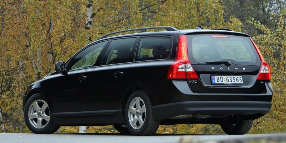 POPULÆR: Finner du en velholdt brukt Volvo V70 er den et utmerket familiebilkjøp.