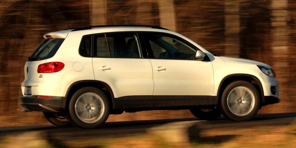 SNART NY: En brukt VW Tiguan gir gode SUV-egenskaper til en fornuftig pris.