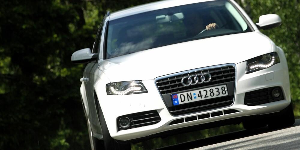SOLID: Audi A4 er teknisk solid og skal være et bra bruktbilkjøp.