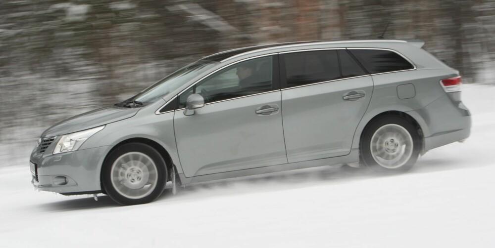 HOLDER SEG: Toyota Avensis holder seg godt i verdi. Den er likevel et bra bruktbilkjøp.