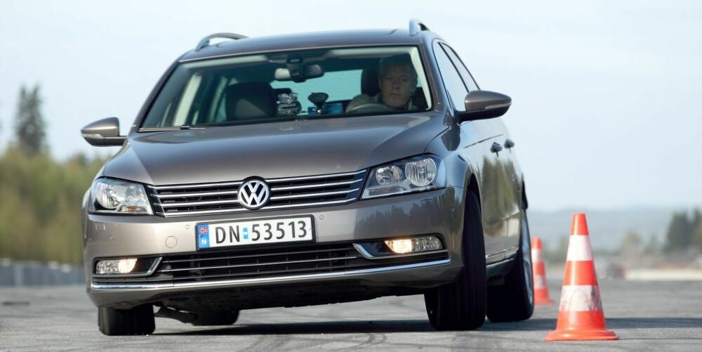 FOLKEVOGN: VW Passat er ventet i ny versjon sent i 2014. Da er det best å kjøpe bruktbil.
