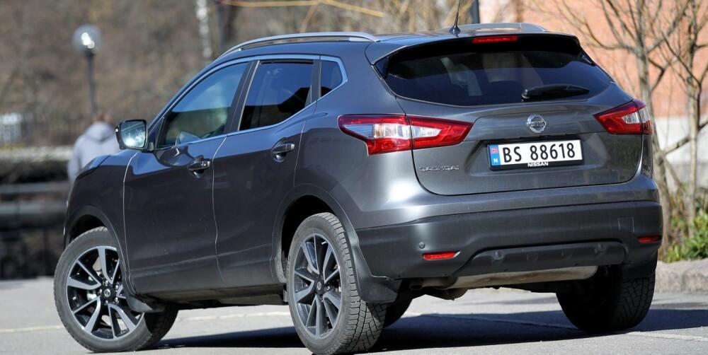 BEDRE NY: Nye Nissan Qashqai er en langt mer attraktiv bil enn forgjengeren.