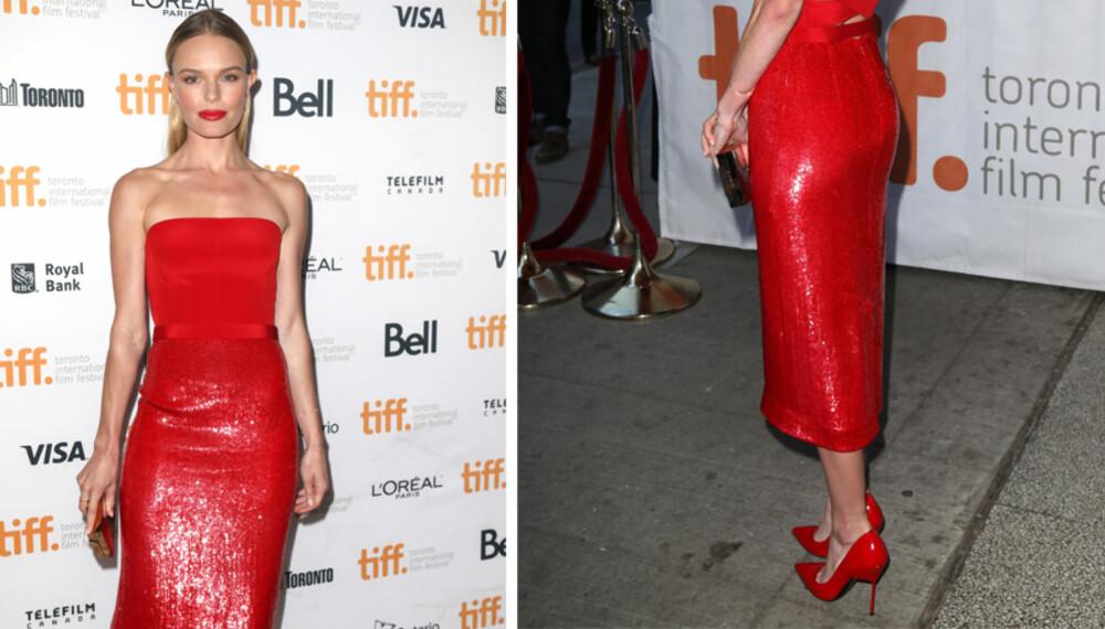 LADY IN RED: Menn oppfatter kvinner kledt i rødt som mer seksuelle og mer tilnærmelige.