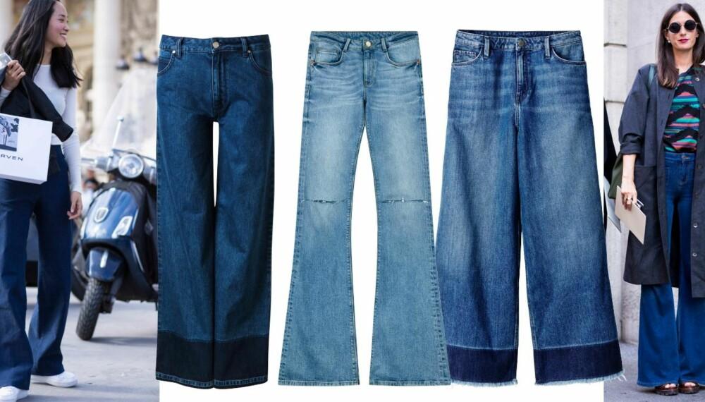 SLENG DEG PÅ: Fra venstre: Never Denim, kr 599. 2nd One, kr 599. H&M, kr 499.