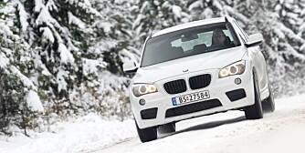 KJØREGLAD: BMW X1 er en av de mest velkjørende crossover-modellene på markedet. FOTO: Egil Nordlien, HM Foto