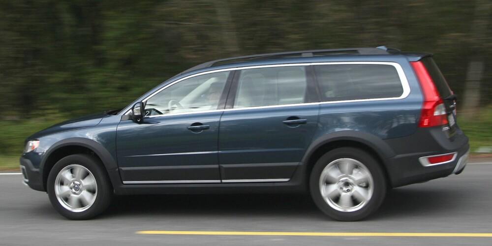 FORBEDRING: Den nye versjonen av Volvo V70 og XC70 har færre feil enn forrige generasjon. FOTO: Egil Nordlien, HM Foto