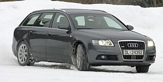 GLEMT LUKSUS: Forrige generasjon Audi A6 quattro kan nå handles til overkommelige priser. PS: 91,6 % (50-100 000 km) av Audi A4 quattro/A4 Allroad (2009-2011) er uten feil, men den er relativt dyr. FOTO: Terje Bjørnsen