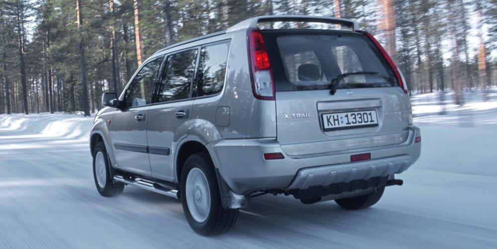 TØFFING: Nissan X-Trail er en av SUV-modellene som egner seg for røff bruk. FOTO: Terje Bjørnsen