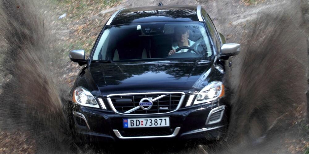 BRA VALG: Volvo XC60 har fint sikkerhetsnivå og klarer seg svært godt i kampen mot tyske premium-SUV-er. FOTO: Egil Nordlien, HM Foto