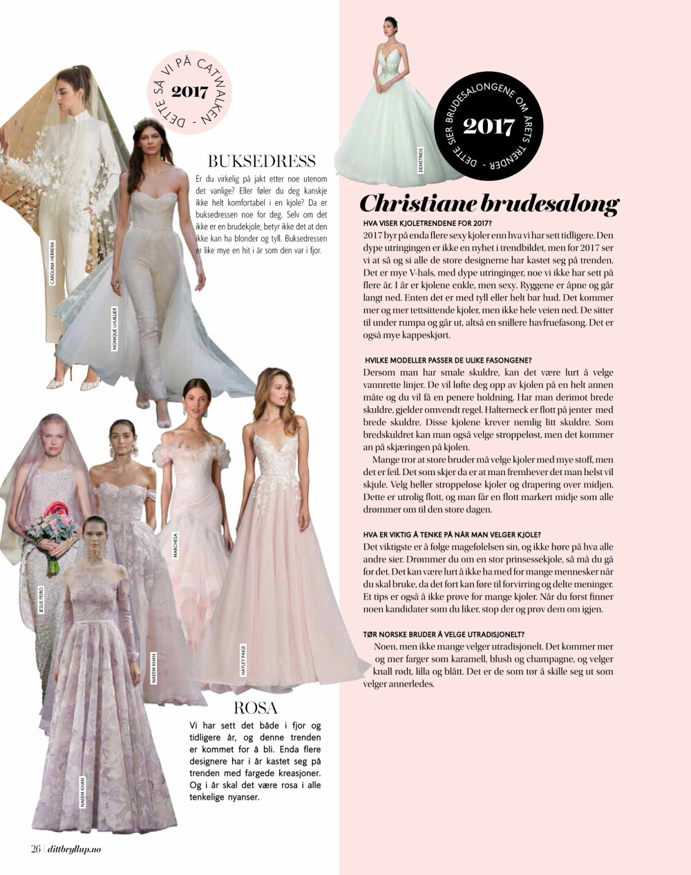 03efbec0 Smugtitt i siste utgave av Ditt Bryllup.