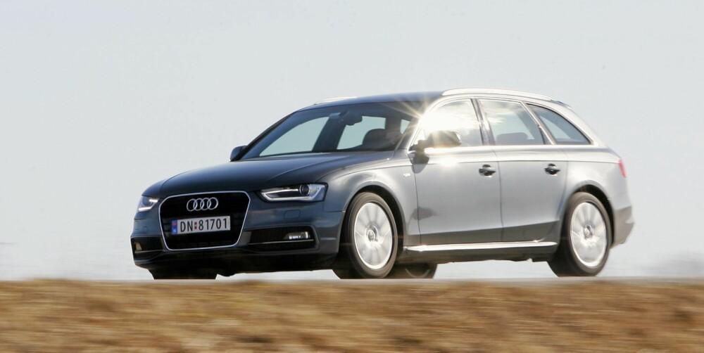 PREMIUM: Nye A4 - om vi kan kalle den det - er veldig lik forgjengeren, men Audi har tatt visse grep som gjør at den fortsatt ser moderne ut.