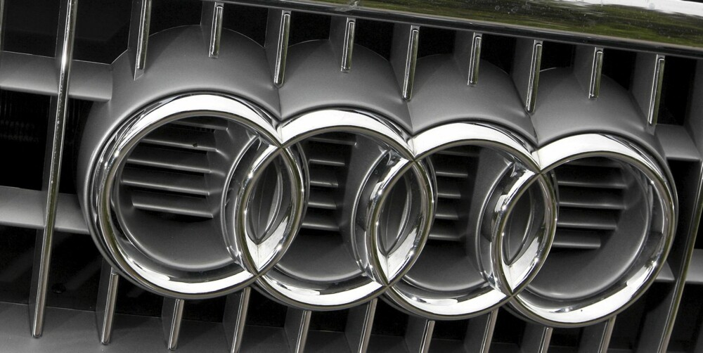 ETTERTRAKTET: Audis fire ringer.