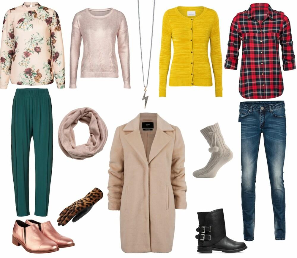 b0661064 KAMELFRAKK-ALTERNATIV: Antrekket til venstre: Blomstrete bluse fra Mint &  Berry/Zalando