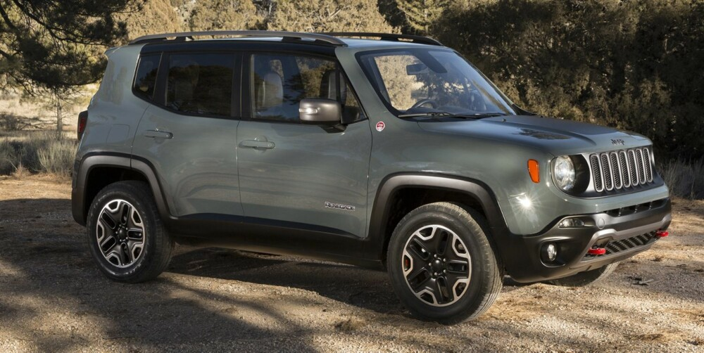LITEN SUV: I motsetning til de fleste konkurrentene i mini-SUV-segmentet er Renegade en fullblods firehjulstrekker. FOTO: Jeep