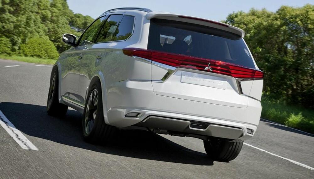 SUV: Mitsubishi Outlander har kanskje ikke verdens mest spennende design. Men nå kan det bli en endring på akkurat det. FOTO: Mitsubishi