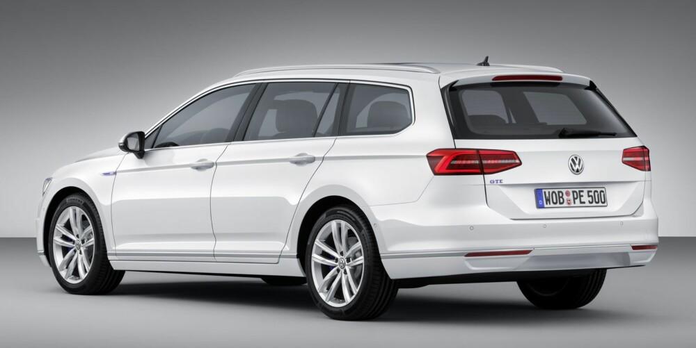 GTE: Passat kommer som plug in-hybrid. FOTO: VW