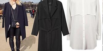FÅ STILEN PÅ BUDSJETT: Fine basisplagg kan kombineres med det meste.  Skjorte fra Bik Bok, kr 399. Blazer fra Mango, kr 399.