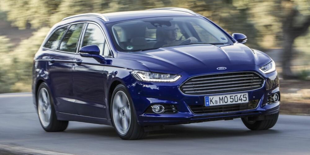 MOTORER: Ford Mondeo kommer med et stort motorutvalg, blant annet en 240-hester bensinmotor.