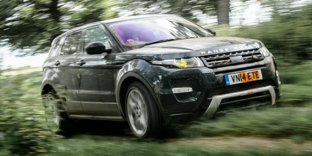 MEST SPESIELL: Range Rover Evoque SD4.
