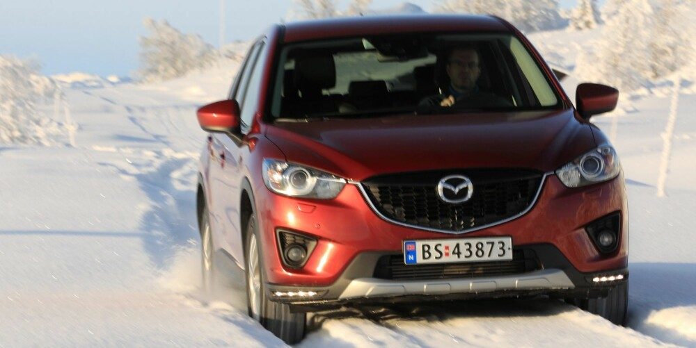 BEST: Det er gode grunner til Mazda CX-5 selger godt. Den er blant de beste å kjøre, har god plass og konkurransedyktige priser. FOTO: Egil Nordlien, HM Foto
